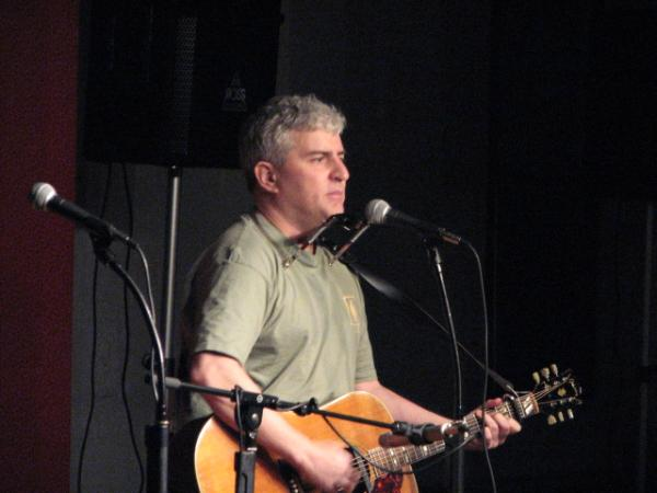 Singer-songwriter Steve Deasy live at Off the Wall Acoustic Coffeehouse